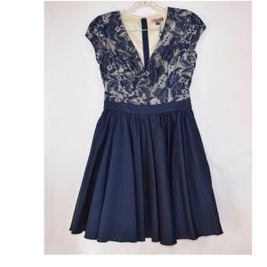 New Chi Chi London  Blue Dress 4 (D19)